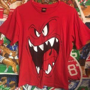 Vintage Looney Tunes Red Monster Crewneck Teeshirt